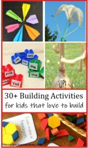 30+ hands on learning ideas for kids that love to build