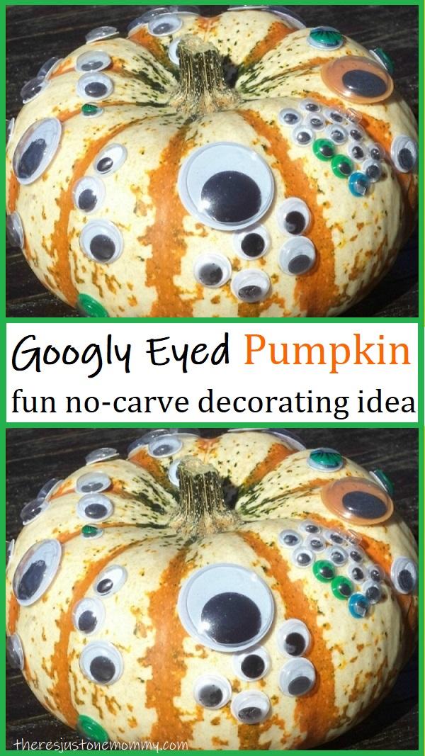 easy pumpkin decorating idea