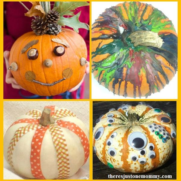 15 of the best no-carve pumpkin ideas