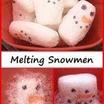 Melting Snowmen STEM Activity