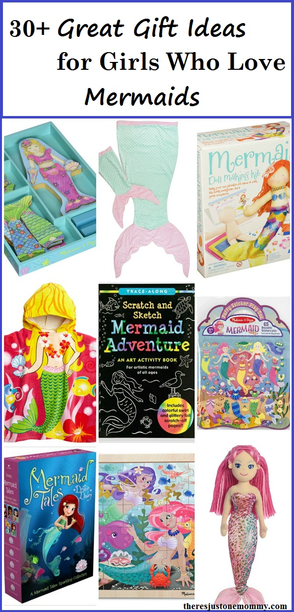 Mermaid Gift Guide: over 30 fun mermaid gift ideas for kids that love mermaids