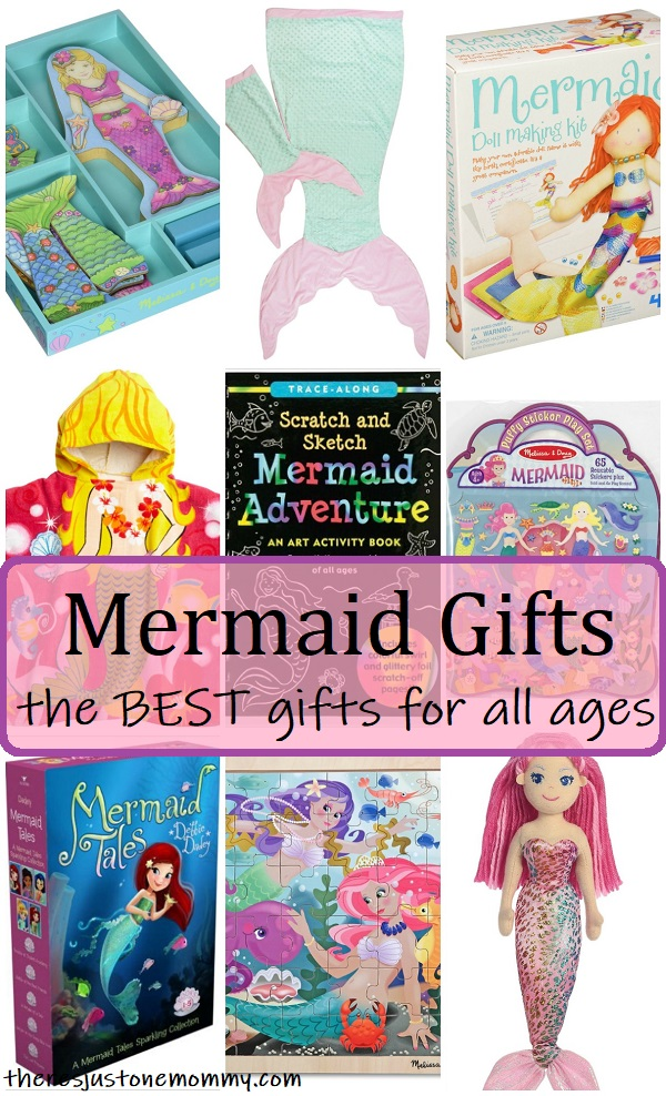 Mermaid Gifts For Girls There S Just One Mommy