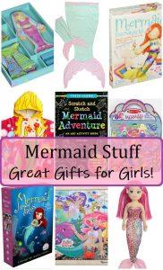 mermaid gift ideas for girls