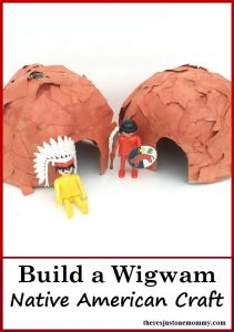 Native American Craft: Build a Wigwam
