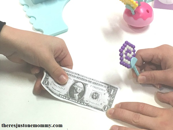 using Beados in pretend play