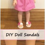 DIY American Girl Wellie Wishers Doll Sandals