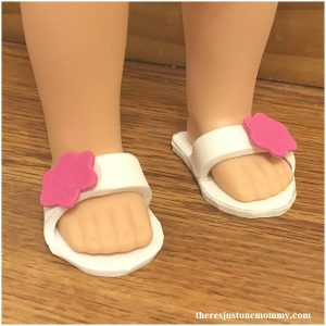 DIY Wellie Wishers American Girl Doll shoes