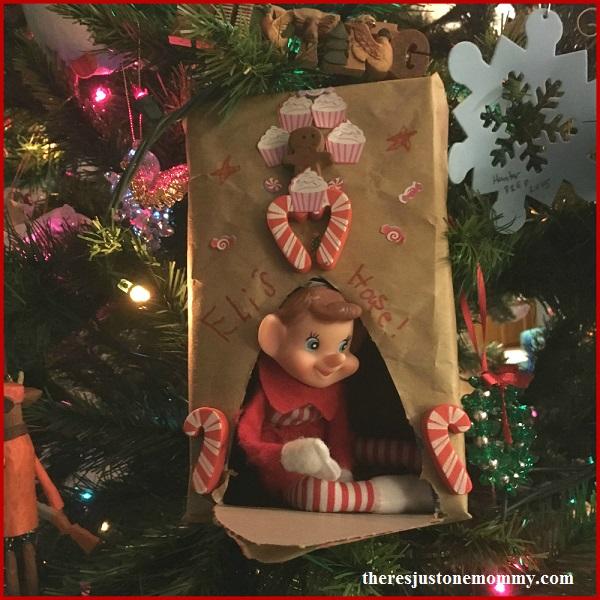 Christmas STEM activity: build your elf on a shelf a home!