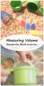 Measuring Volume: Hands-On Math Activity