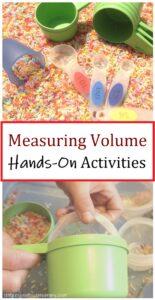 hands on measuring volume activities for kids