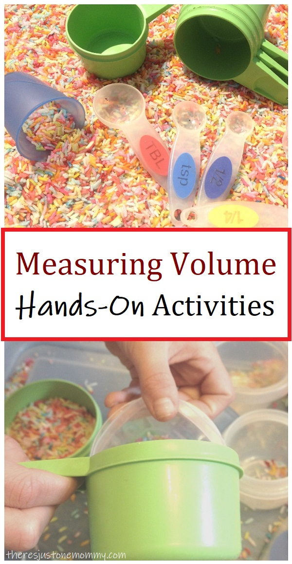 hands on measuring volume activities for kids
