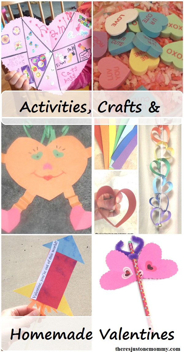 Valentine's Day crafts & activities. including DIY Valentines kids can make, preschool Valentine's Day crafts, toddler Valentine's Day crafts, and more