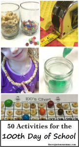 100th Day of School Activities: 50 Fun Activities to celebrate 100 Days of School
