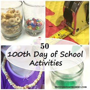 50 fun activities for the 100th Day of School