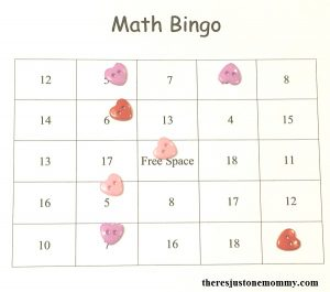 free printable math fact bingo -- make addition math fact practice more fun!