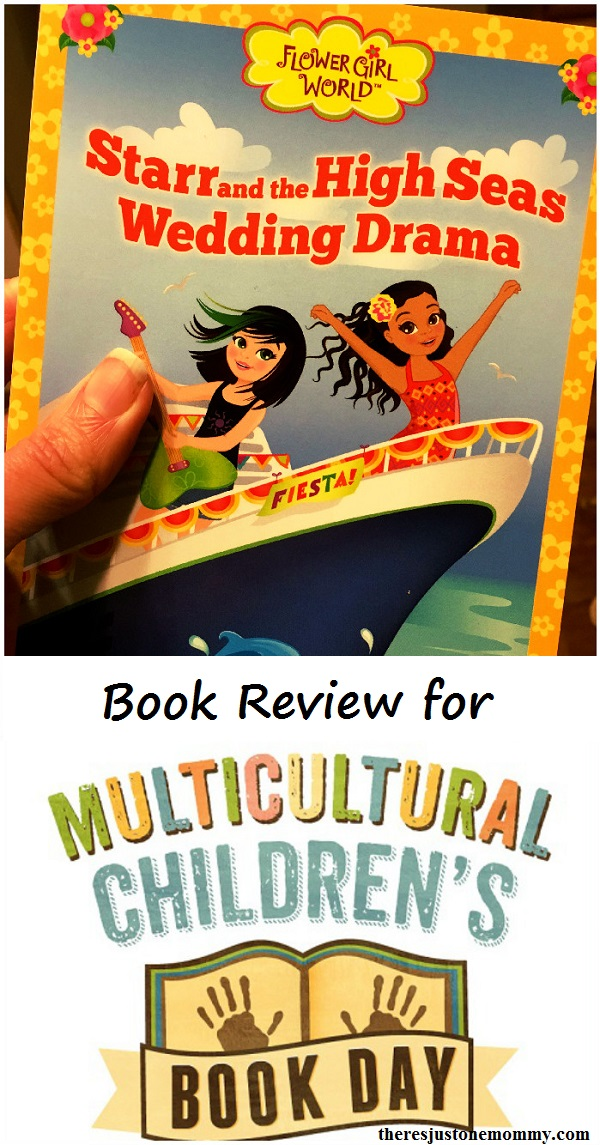 Flower Girl World review -- book review of Starr and the High Seas Wedding Drama for Multicultural Children's Book Day