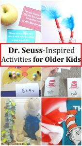 Dr. Seuss activities for older students