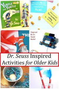 Dr Seuss activities for older kids
