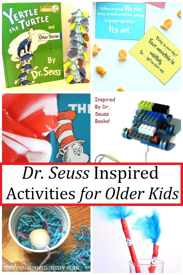 Dr Seuss Activities For Older Kids There S Just One Mommy