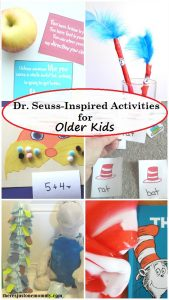 Dr. Seuss-Inspired Activities for Older Kids