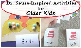Dr. Seuss-Inspired Activities for Older Kids