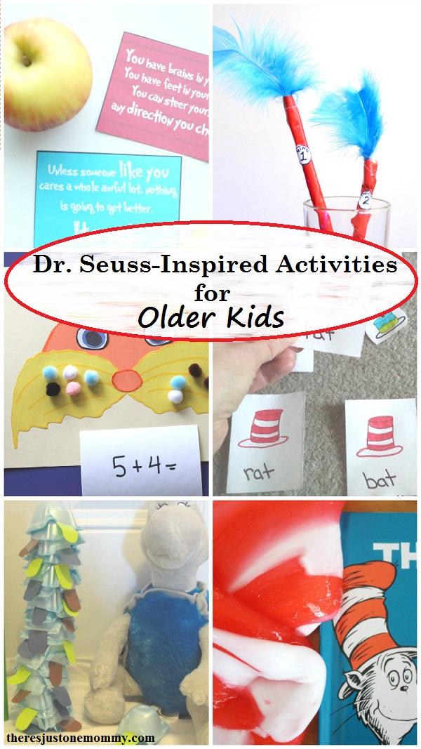 Dr. Seuss activities for older kids -- Dr. Seuss activities for tweens (8+)