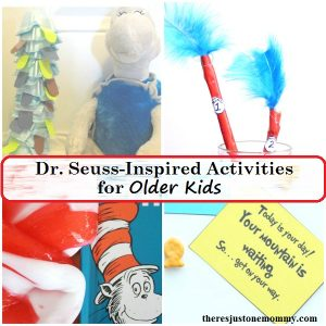 Dr. Seuss for older kids -- Dr. Seuss activities for tweens