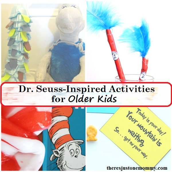 Dr. Seuss for older kids -- Dr. Seuss activities for tweens