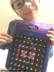 How to make a geoboard using Lite Brite