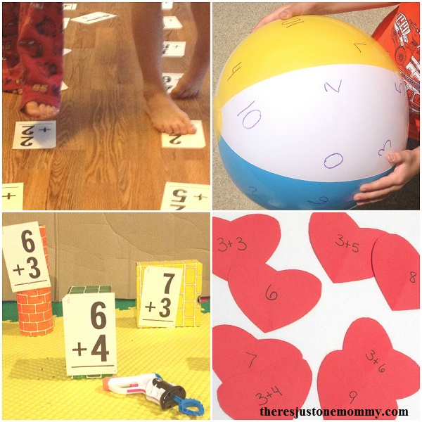 fun ways to practice math facts at home