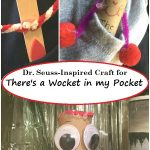 Dr. Seuss craft for There's a Wocket in my Pocket