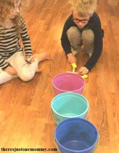 marshmallow Peeps activity; kids Easter activity