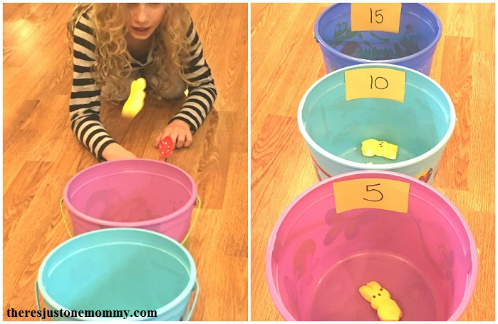simple marshmallow Peeps activity