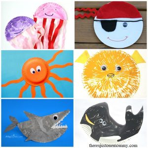Summer Paper Plate Crafts There S Just One Mommy