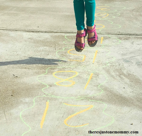 simple skip counting activity -- math activity to help teach multiplication