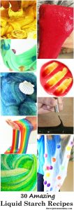 30 amazing liquid starch slime recipe ideas -- the best liquid starch and glue slimes