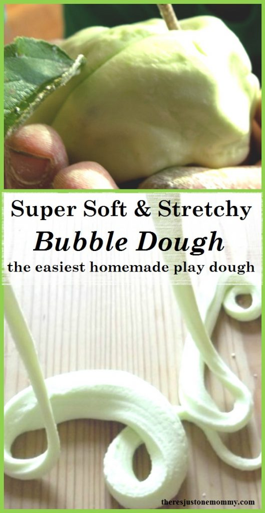8 different ways to play with and make bubble dough -- simple homemade play dough with 2 ingredients