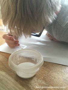 kids spy activity: learn how to make invisible ink