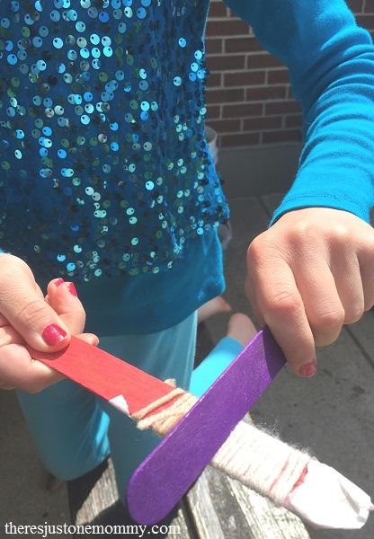 kids DIY musical instrument STEAM activity