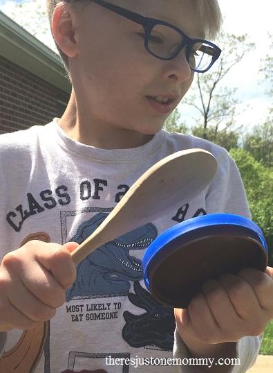 musical instrument STEM activity for kids