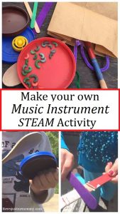 STEM music activity -- making your own musical instrument