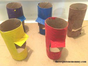 how to make a cardboard tube car