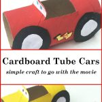 Simple Cars Craft Inspired by the Movie