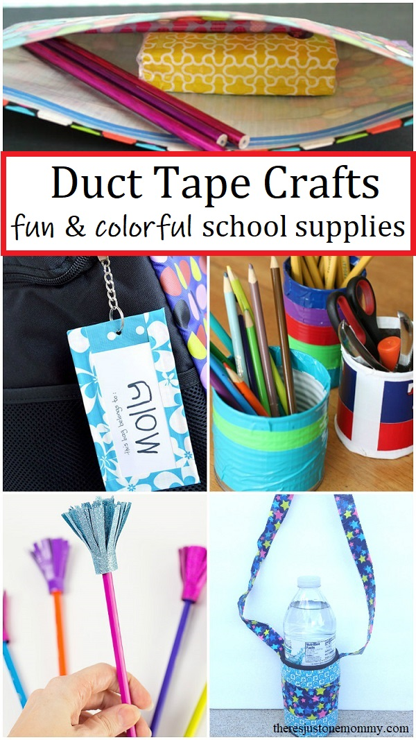 back to school duct tape crafts