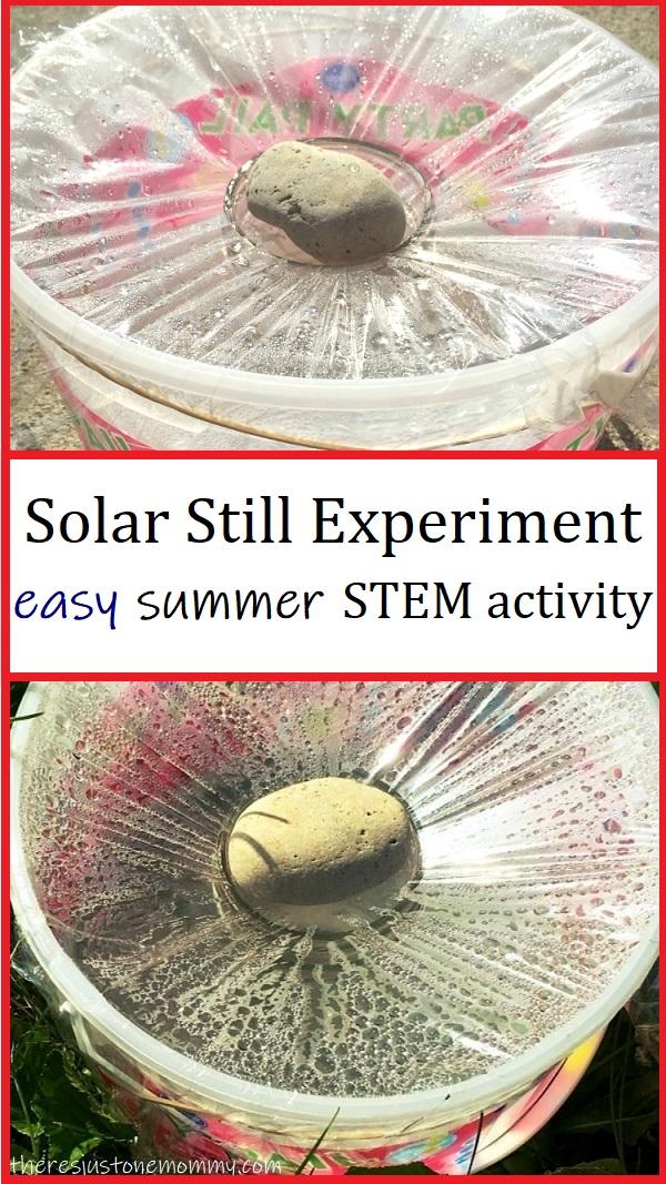solar still science experiment