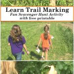 Learn Trail Marking with This Fun Scavenger Hunt Idea (includes free printable)