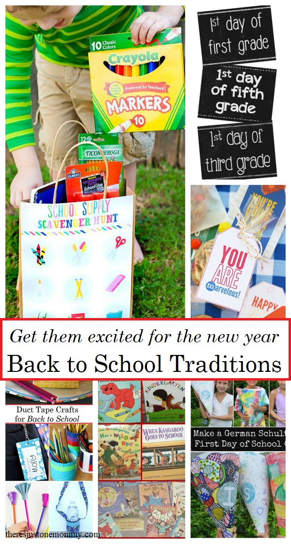 Get the kids excited for the new year with these 15 fun Back to School Traditions