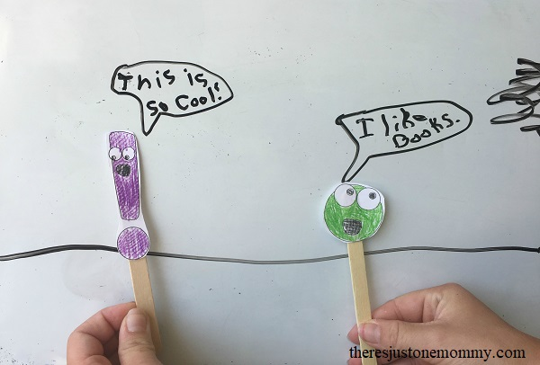 hands-on learning: teaching punctuation marks