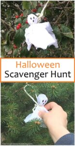 Halloween scavenger hunt for kids