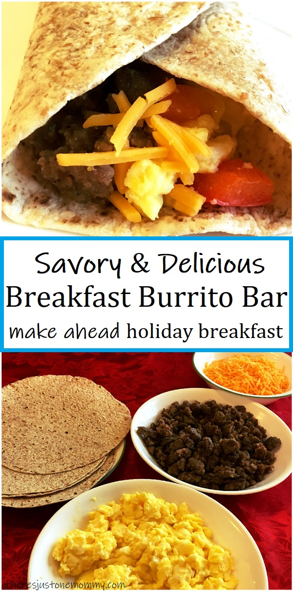 how to make a breakfast burrito bar